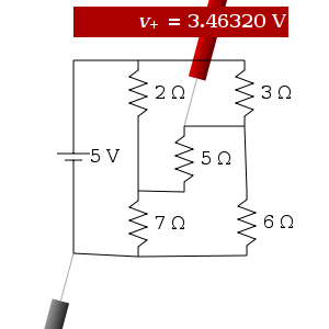 Maxwell Javascript Circuit Simulator